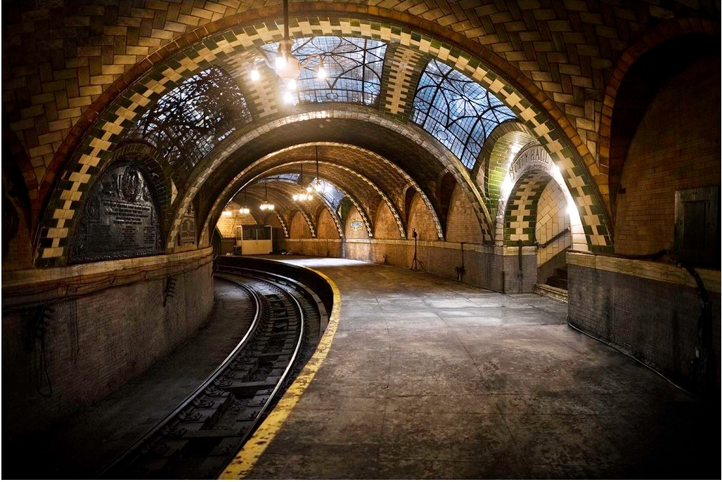 New York S City Hall Ghost Station Re Opened D Online