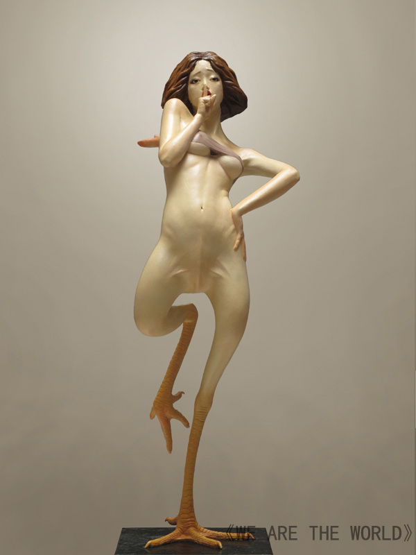 Liu Xue Sculpture Chicken