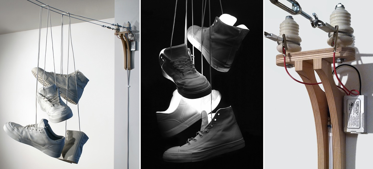 Shoe Toss lamps