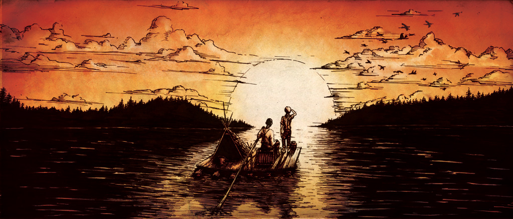 the moral battle facing the character of huckleberry finn The emergence of mark twain's missouri:  but huckleberry finn offers an especially interesting case because of the unusual  to the prospect of facing down the.