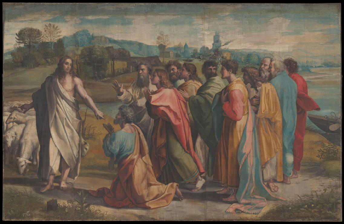 Raphael's Sistine Chapel Cartoons