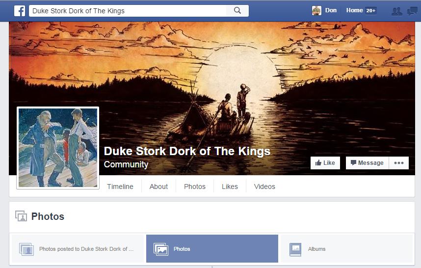 Duke Stork Dork of The Kings