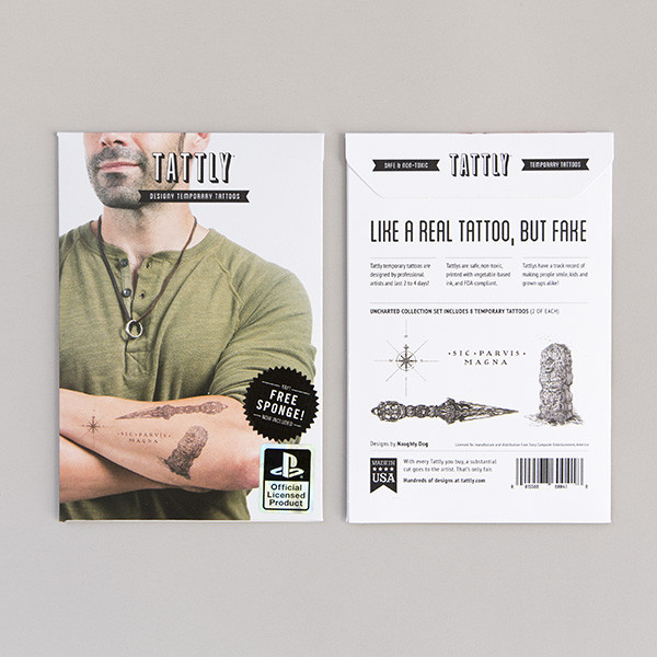 Tattly Uncharted Collection Set - Packaging